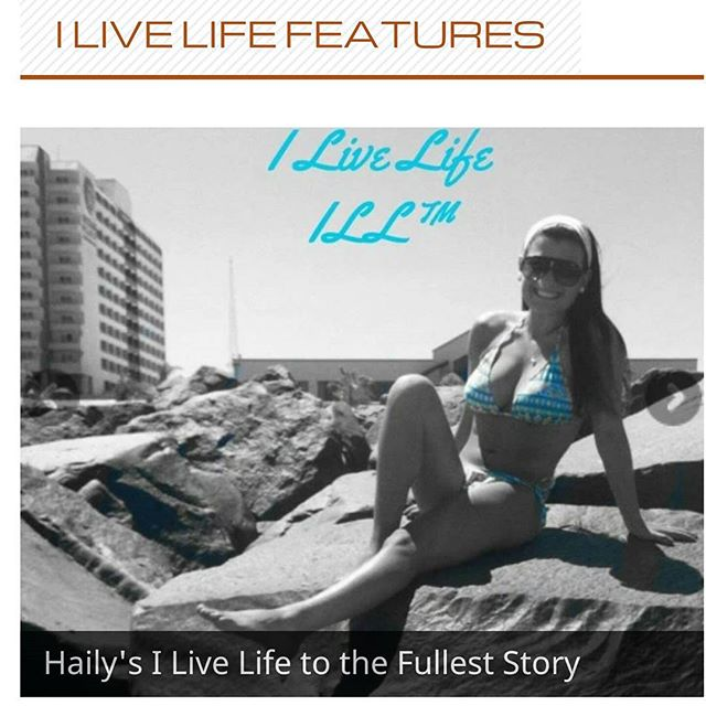 I Live Life Feature Friday begins today. #ILLff #beILL @haileyklein